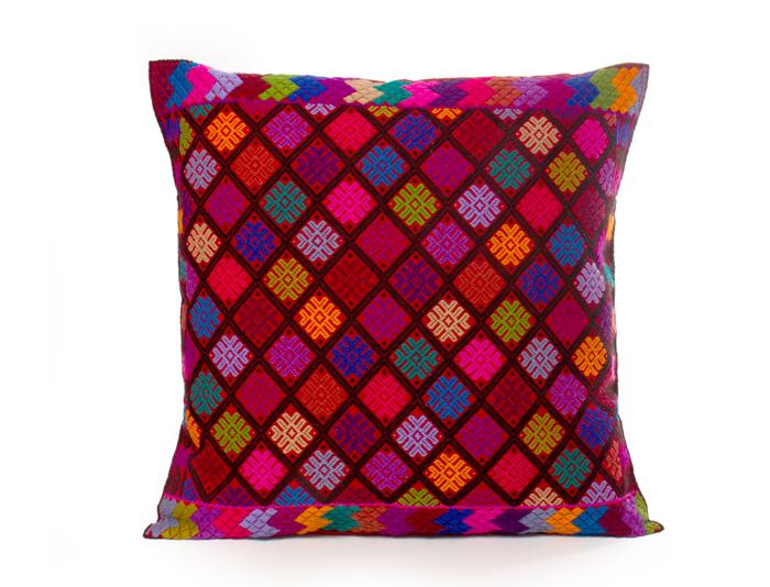 Cojines artesanales mexicanos